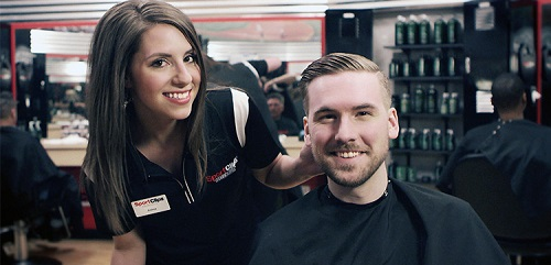 Sport Clips Haircuts of McCandles Twp. stylist hair cut